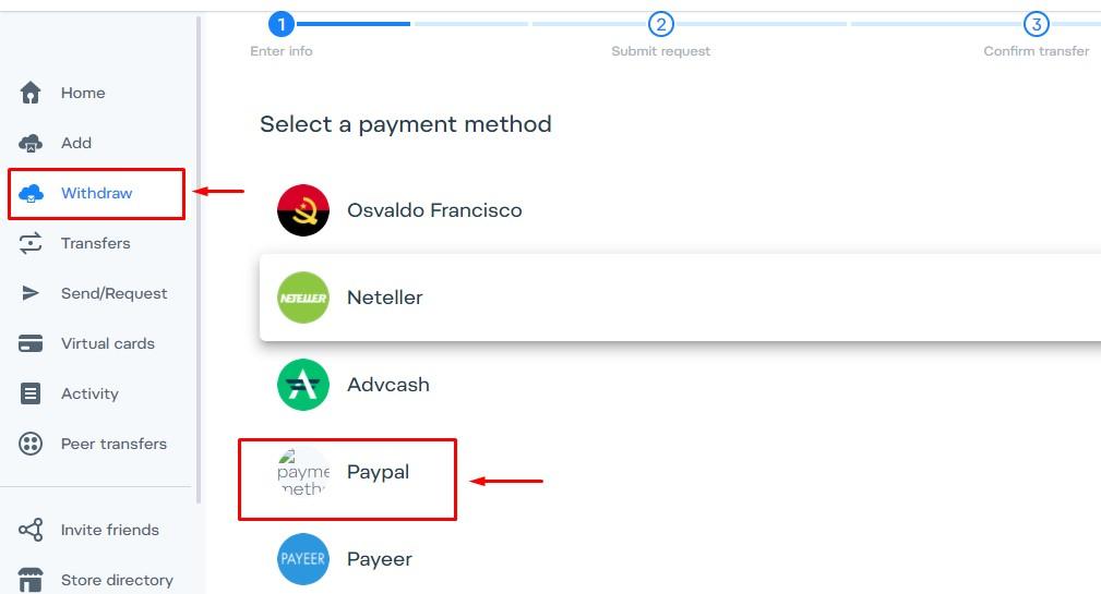 Como sacar dinheiro do paypal para sua conta airtm